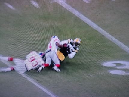 D. This angle was unavailable for replay, because it was broadcast after the 60-second time limit had expired.