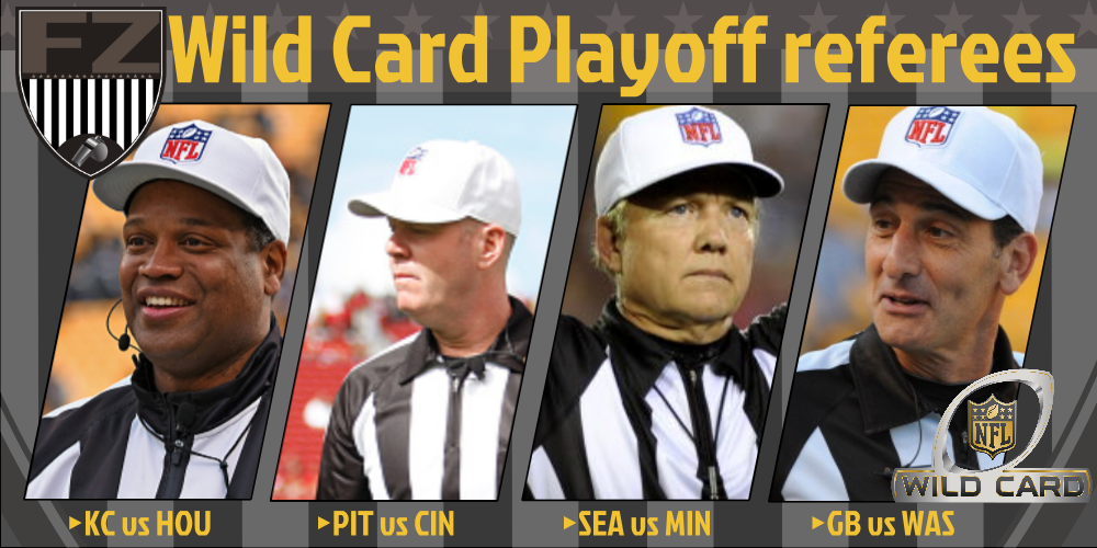 nfl referees assignments
